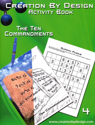 Activity Book - The Ten Commandments  -