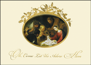 Jesus in the Manger Christmas Cards, Box of 16  -