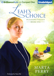 Leah's Choice, Pleasant Valley #1, Unabridged Audiobook on CD  -     Narrated By: Tanya Eby     By: Marta Perry