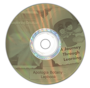Exploring Creation with Botany Lapbook CD-Rom   -