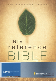 NIV Giant Print Reference Bible, Softcover 1984  -