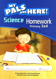 MPH Science Homework Primary 3 & 4 (Second Edition)   -