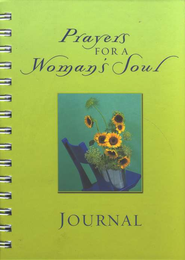 Prayers for a Woman's Soul Journal  -