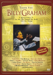 Pat Boone Presents: Thank You, Billy Graham, DVD/CD   -