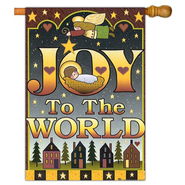 Joy To The World Flag, Large   -