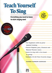 Teach Yourself to Sing, Book & CD   -