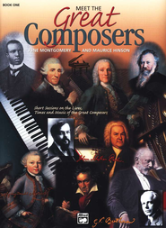 Meet the Great Composers, Book 1   -     By: June Montgomery, Maurice Hinson