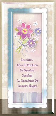 Grandma Framed Plaque, Spanish  -