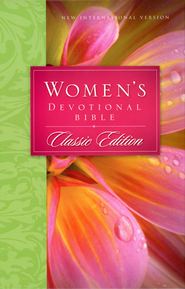 NIV Women's Devotional Bible, Hardcover, Classic Edition  - Slightly Imperfect  -