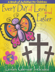 Every Day of Lent and Easter: a Book of Activities for Children, Year B  -