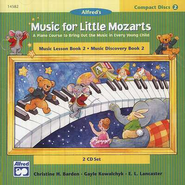 Music For Little Mozarts, CDs for Level 2   -     By: Christine H. Barden, Gayle Kowalchyk, E.L. Lancaster