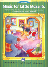 Music for Little Mozarts, Music Discovery Book 2   -     By: Christine H. Barden