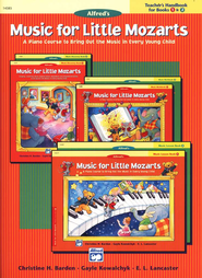 Music for Little Mozarts, Teacher's Handbook for Books 1 & 2   -     By: Christine H. Barden