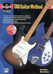 Basix &#153 TAB Guitar Method, Book 1, Book & Compact Disc   -