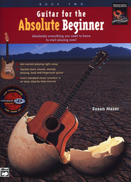 Guitar for the Absolute Beginner 2 - Book & CD   -