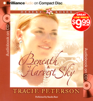 #3: Beneath a Harvest Sky: Abridged Audiobook on CD   -     Narrated By: Sandra Burr     By: Tracie Peterson