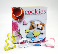 Cookies: More than 40 Indulgent Recipes (with 4 Cookie Cutters)  -
