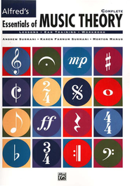 Essentials of Music Theory, Complete Book and 2 Ear Training CDs   -     By: Andrew Surmani