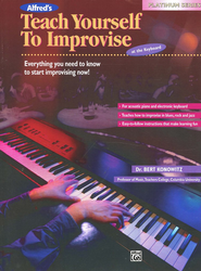 Teach Yourself to Improvise at the Keyboard, Book Only   -