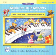 Music For Little Mozarts, CDs for Level 3   -     By: Christine H. Barden, Gayle Kowalchyk, E.L. Lancaster