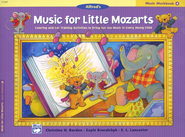 Music for Little Mozarts, Music Workbook, Book 4   -     By: Christine H. Barden