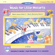 Music For Little Mozarts, CDs for Level 4   -     By: Christine H. Barden, Gayle Kowalchyk, E.L. Lancaster