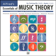 Essentials of Music Theory, Ear Training CDs 1 & 2 (for Books 1-3)   -     By: Andrew Surmani