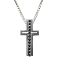 Pendant Peace Trinity Cross  -
