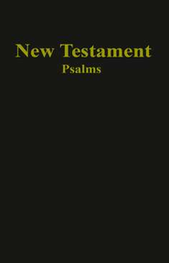 KJV Economy New Testament and Psalms, Imitation Leather, Black  -