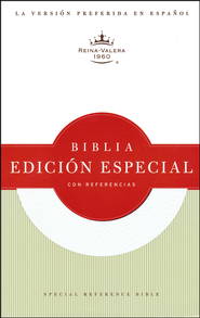 Biblia Especial con Referencias RVR 1960, Piel Fab. Blanca  (RVR 1960 Special Reference Bible, Bon. Leather White)  -
