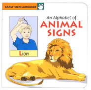 An Alphabet of Animal Signs Board Book   -