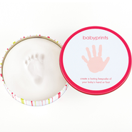 Babyprints Tin, Pink  -