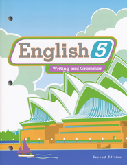BJU English Grade 5 Student Edition, 2nd Edition (Updated copyright)   -