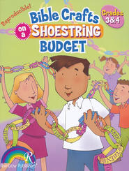 Bible Crafts on a Shoestring Budget, Grades 3-4   -