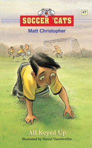 Soccer 'Cats #7: All Keyed Up - eBook  -     By: Matt Christopher     Illustrated By: Dan Vasconcellos