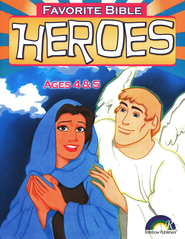 Favorite Bible Heroes, Ages 4-5  -