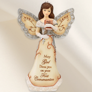 First Communion Angel Figurine  -