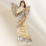 A Kind Heart Angel with Kitten Figurine  -