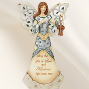 May the Gifts of Love and Kindness Angel Figurine  -
