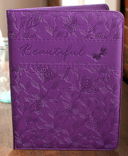 Everything Beautiful Padfolio, Purple  -