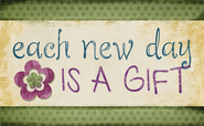 Each New Day Magnet  -