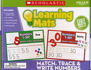 Match, Trace, and Write Number Mats  -