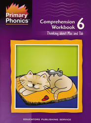 Primary Phonics Comprehension Workbook 6  -