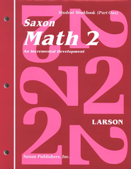 Saxon Math 2, Student Work Kit & Fact Cards   -