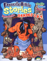 Favorite Bible Stories, Grades 3-4  -