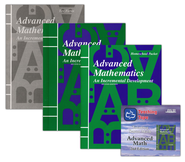Saxon Math Advanced Math, 2nd Edition Home Study Kit & Teaching Tape Technology DVD Set Bundle  -
