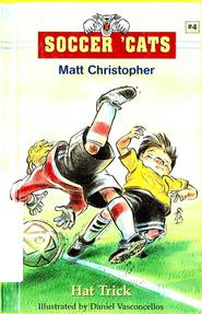 Soccer 'Cats #4: Hat Trick - eBook  -     By: Matt Christopher