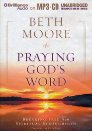 Praying God's Word Unabridged Audiobook on MP3  -     By: Beth Moore