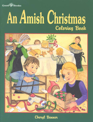 An Amish Christmas Coloring Book  -              By: Cheryl Benner