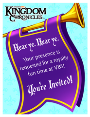 Kingdom Chronicles Invitation postcards (pack of 40)  -